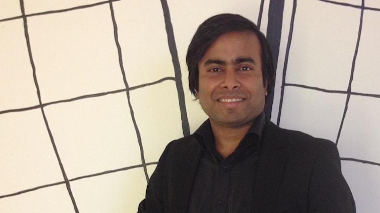 Arifur Rahman fick en fristad i Norge. Foto: Lana Brunell/Sveriges Radio