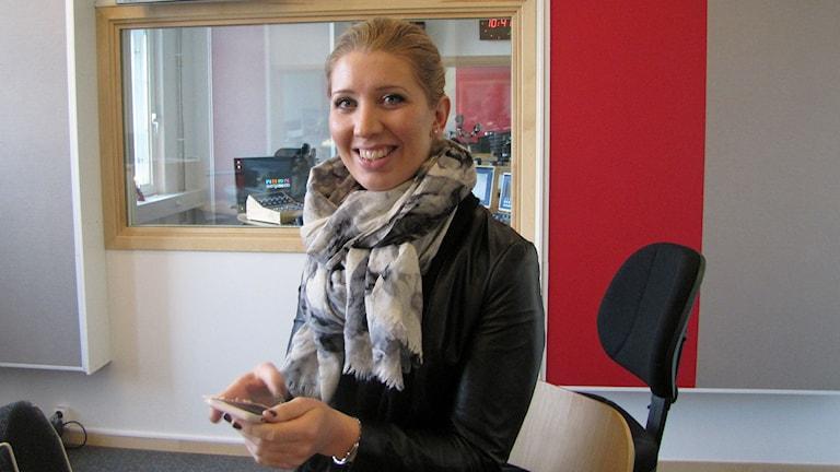 Lina Skandevall. Foto: Peter Kristensson/Sveriges Radio