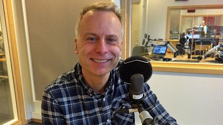 Relationsexperten Sverker Wadstein. Foto: Titti Elm/Sveriges Radio