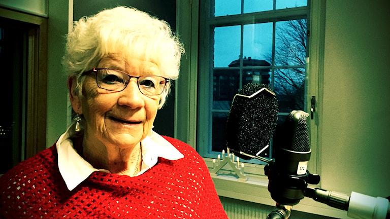 Lena Fogelqwist, Årets östgöte-kandidat. Foto: Charlotte Lauterbach/Sveriges Radio