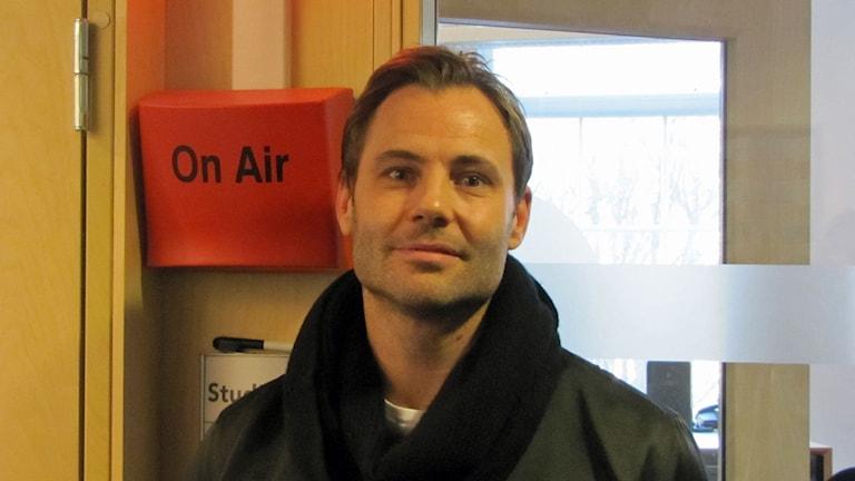 Christian Forsmar, Årets östgöte-kandidat 2014. Foto: Peter Kristensson/Sveriges Radio