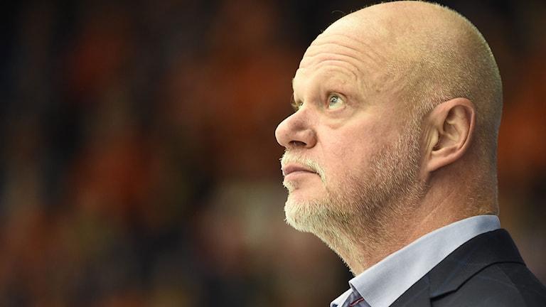 Linköping HC:s tränare Roger Melin. Foto: Mikael Fritzon/TT