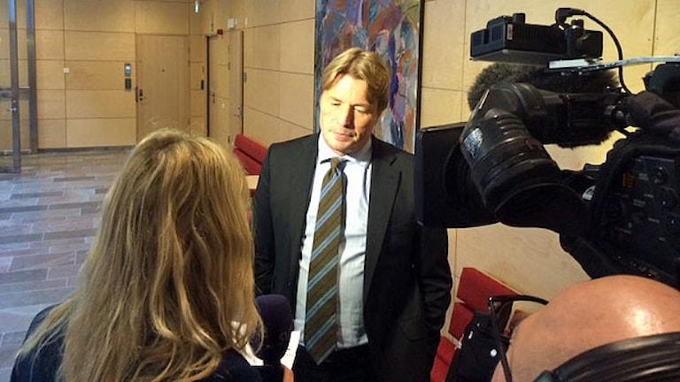 Advokat Thomas Bodström. Foto: Christian Ströberg/Sveriges Radio