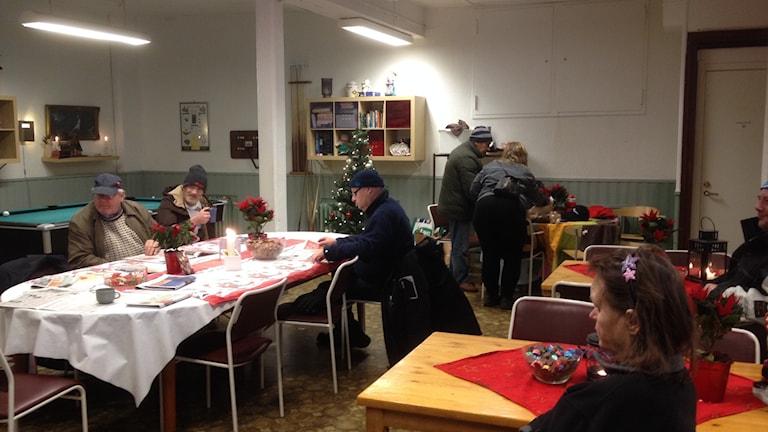 Besökare på Ria center i Norrköping under julhelgen foto:Maria Turdén/Sveriges Radio