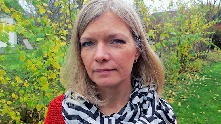 Anna Lindberg, publisher, chefredaktör och ansvarig utgivare på Corren. Foto: Henrik Lindberg