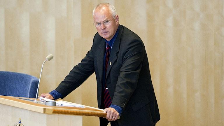 Riksdagsledamoten Finn Bengtsson (M). Foto Christine Olsson/TT