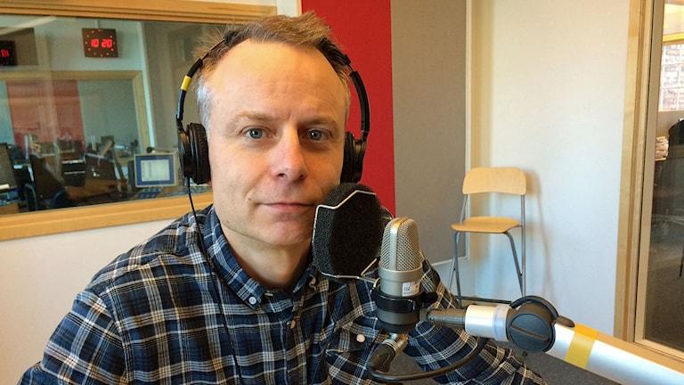 Relationsrådgivaren Sverker Wadstein. Foto: Titti Elm/Sveriges Radio