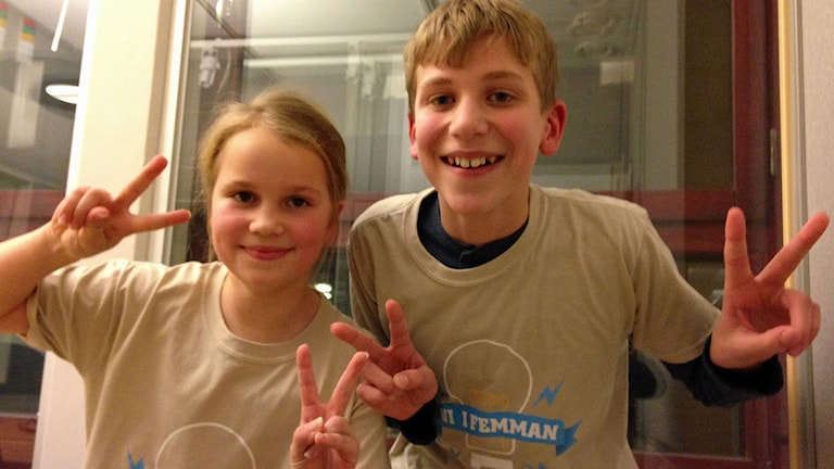 Stina Andersson och Erik Nilsson.