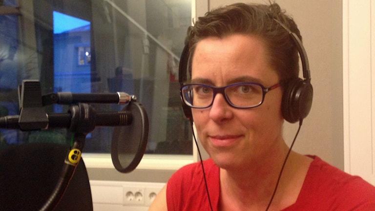 Kammaråklagare Helene Gestrin. Foto: Jimmy Calmerberg/Sveriges Radio