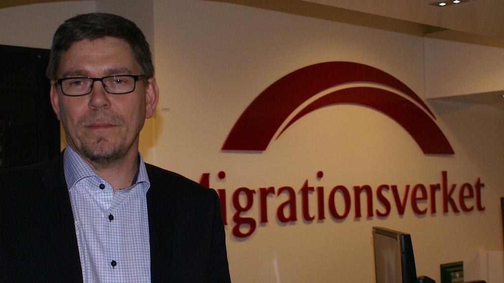 Magnus Bengtsson Processägare Migrationsverket Foto Tahir Yousef P4 Östergötland Sveriges Radio