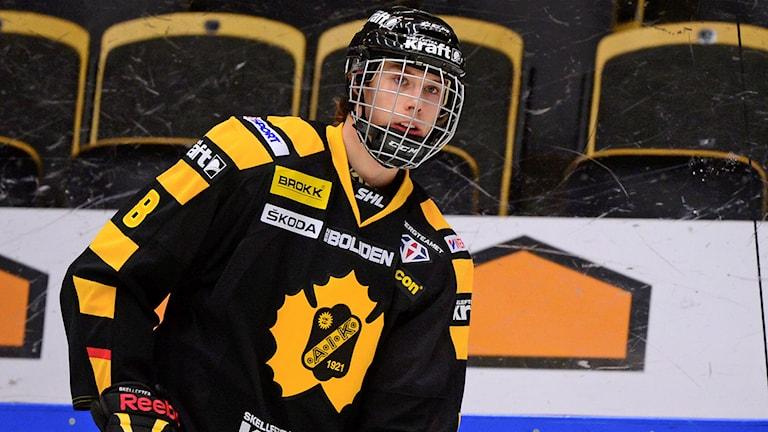 Marcus Pettersson, Skellefteå AIK. Foto: Robert Granström/TT