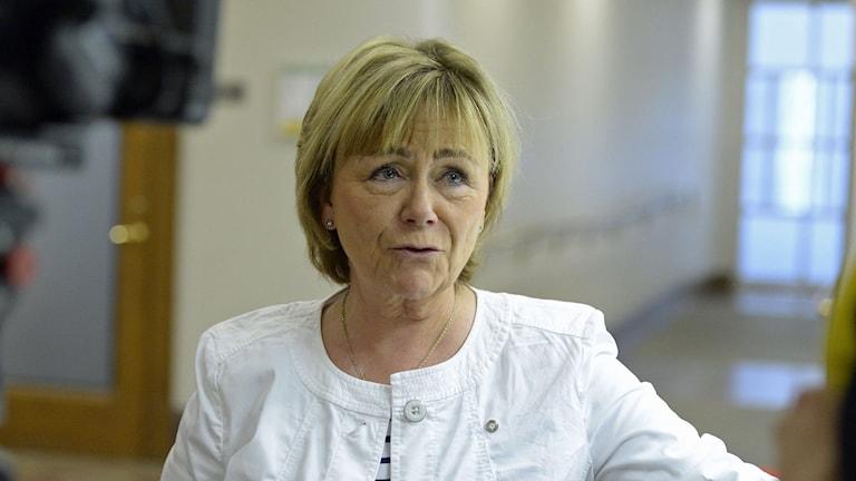 F.d. justitieminister Beatrice Ask (M). Foto: Bertil Ericson/TT