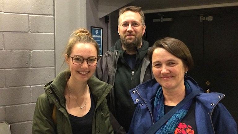 Hilma, Daniel o Marit Karlsson