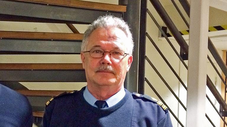 Kommisarie Håkan Stenbäck. Foto: Peter Weyde/Sveriges Radio