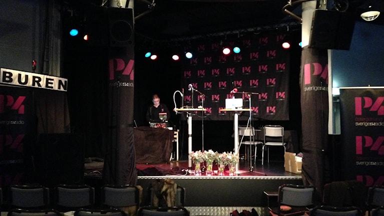 Inför Vi i i femman-finalen 2015. Foto: Andreas Tosting/Sveriges Radio