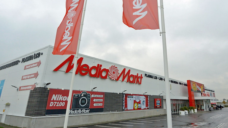 Media Markt i Malmö. Foto: Johan Nilsson/TT