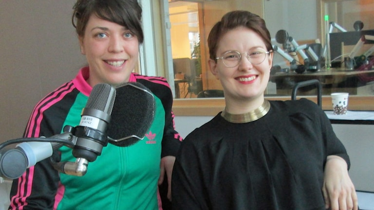 Louise Berg och Erika Pohjanen, Sibship. Foto: Lotta Ederth/Sveriges Radio