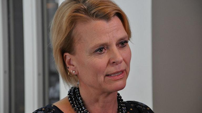 Åsa Rgnér (S) barn- äldre- och jämställdhetsminister. Foto: Linköpings kommun
