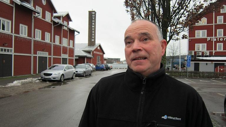 Göran Carlsson i Motala. Foto: Raina Medelius/Sveriges Radio