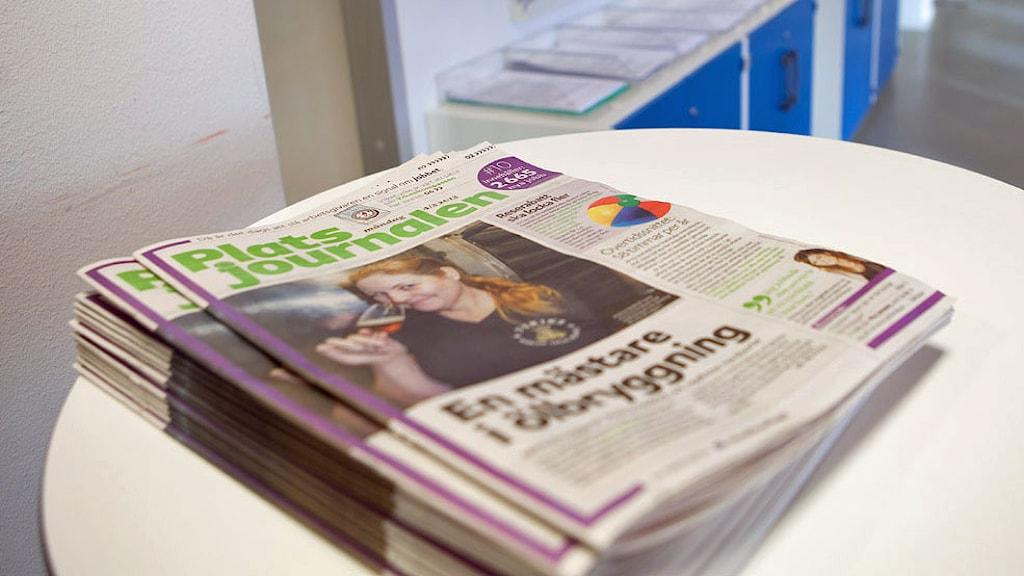 Platsjournalen. Foto: Camilla Veide/Arbetsförmedlingen