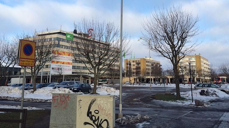 Stadsdelen Skäggetorp i Linköping. Foto: Peter Weyde/Sveriges Radio