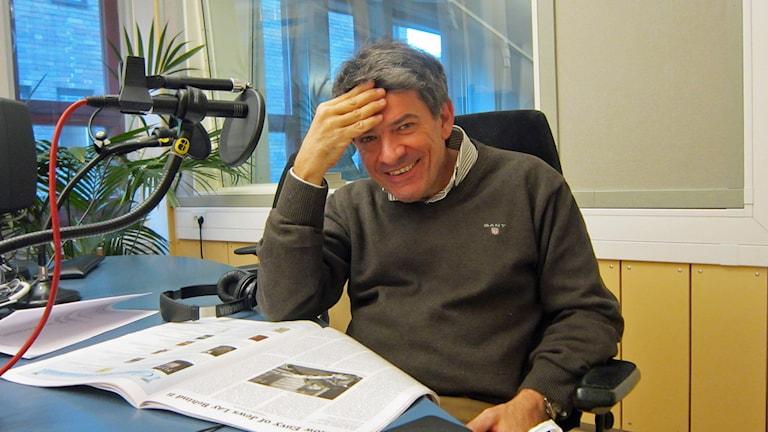 Michael Cocozza. Foto: Raina Medelius/Sveriges Radio
