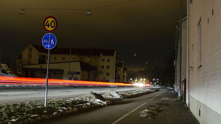 Gata i Norrköping. Foto: Niklas Luks/Nyhetsfoto.se