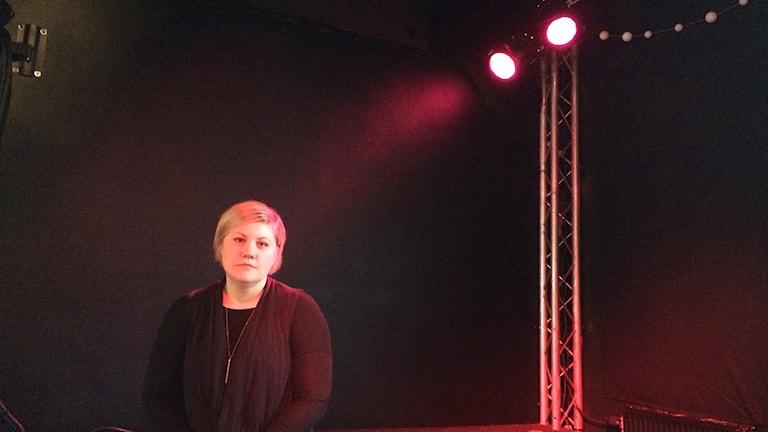 Sanna Roth, Studiefrämjandet Linköping. Foto: Peter Weyde/Sveriges Radio