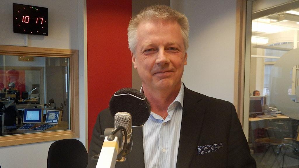 Tommy Hultin, vd för Linköpingsbo2017. Foto: Petter Ahnoff/Sveriges Radio