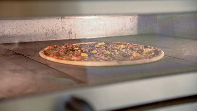 Pizzaugn. Foto Johannes Cleris/TT