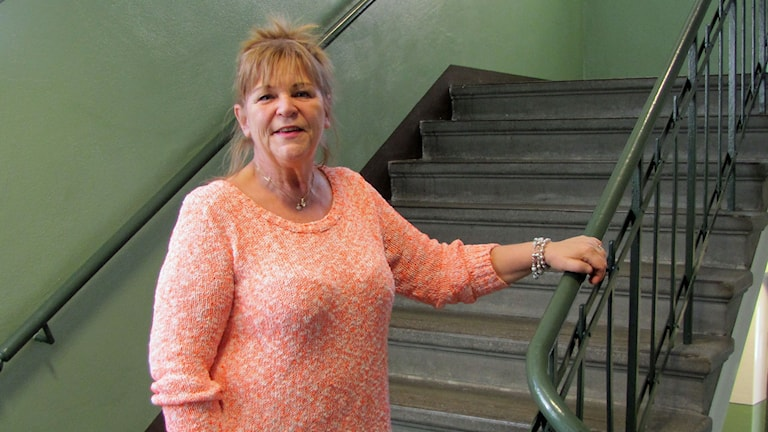 Britt-Marie Johansson(S), kommunalråd Boxholm. Foto: Lotta Ederth/Sveriges Radio