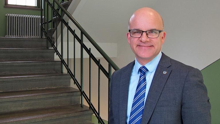 Aleksander Gabelic, ordförande i Svenska FN-förbundet. Foto: Lotta Ederth/Sveriges Radio