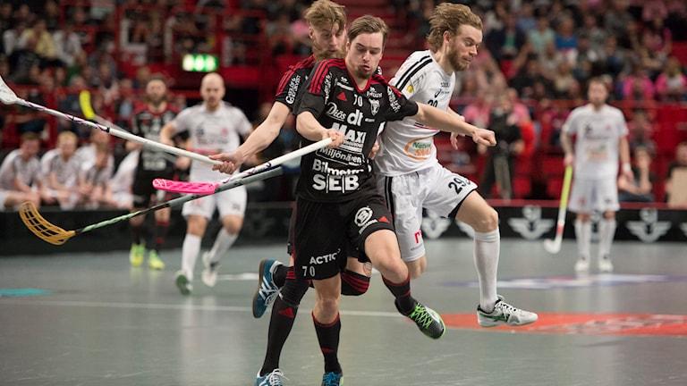 SM-final innebandy. Linköping. Falun. Foto: Jessica Gow/TT
