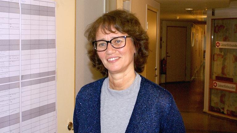 Marie Särud sektionsordförande för kommunals sektion väst i länet