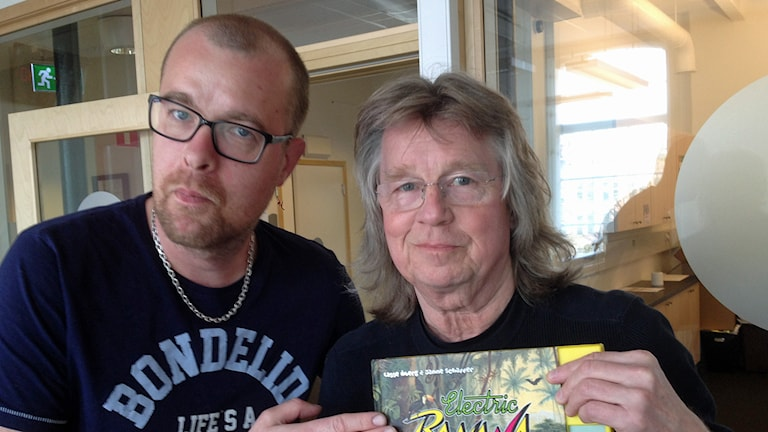 Mathias Lindholm och Janne Schaffer. Foto: Jimmy Calmerberg/Sveriges Radio