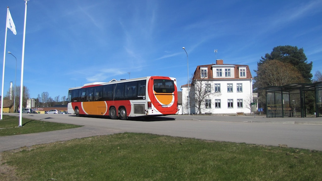 Buss. Foto: Rosmari Karlsson/Sveriges Radio