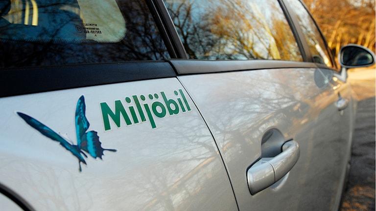 Miljöbil. Foto: Joakim Ståhl/TT