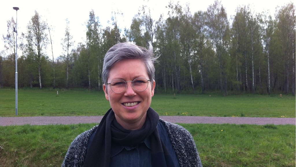 Eva Möller, Motala kommun. Foto: Rosmari Karlsson/Sveriges Radio