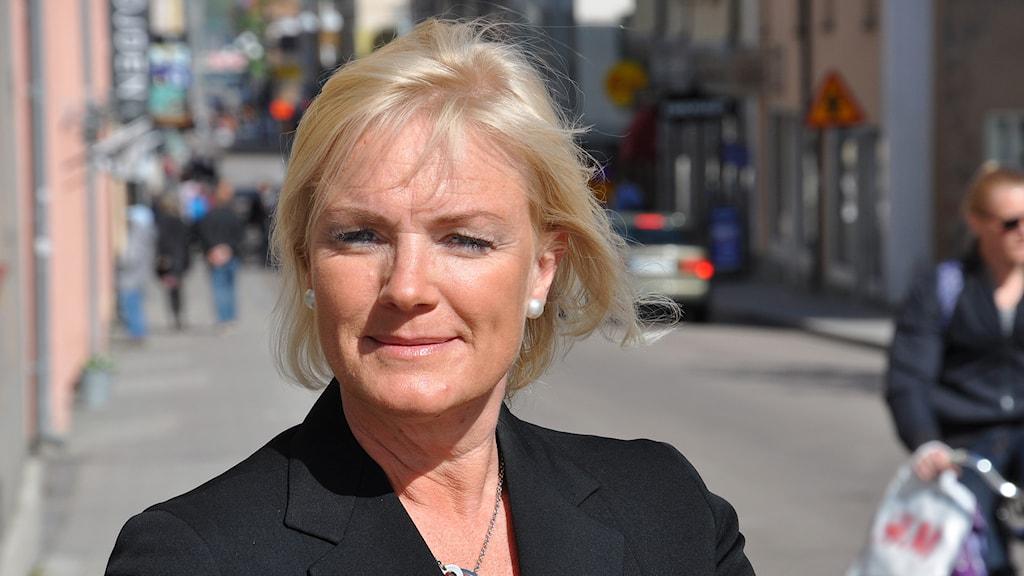 Karin Olanders, kultur- och fritidsdirektör i Linköping. Foto: Claes Lundkvist/Linköpings kommun