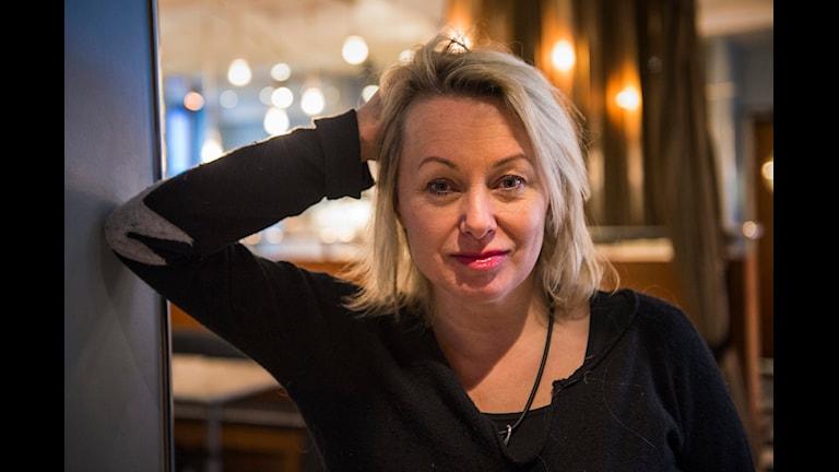 Musikern Louise Hoffsten.
