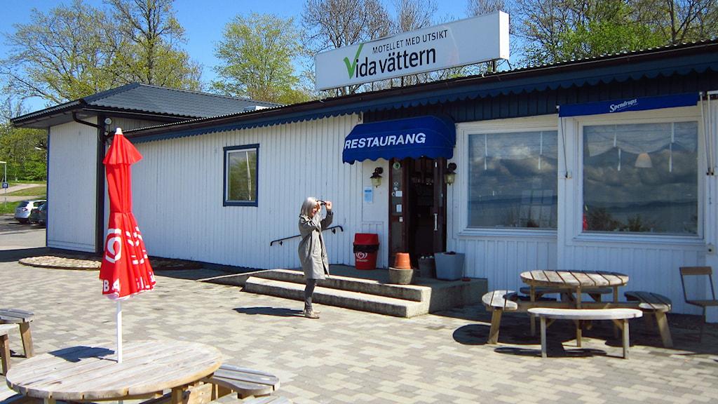 Asylboendet Vida Vättern. Foto: Johan Gustafsson/Sveriges Radio