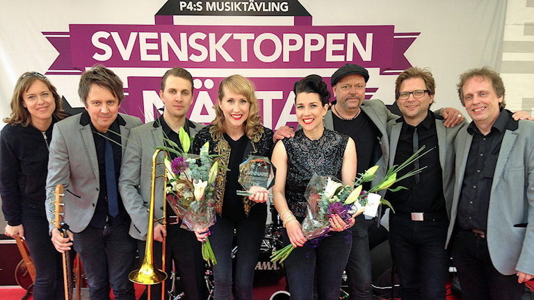 The Shoo Shoo Sisters är vinnare av Svensktoppen nästa 2015. Foto: Andreas Tosting/Sveriges Radio