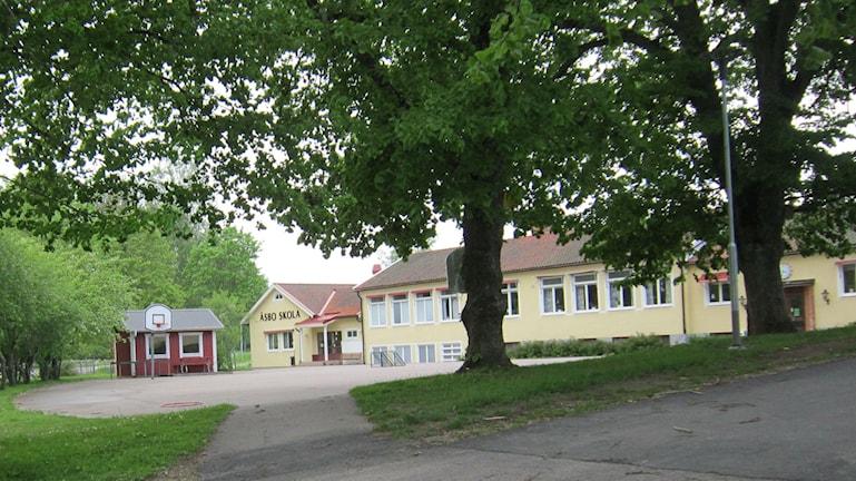 Åsbo skola i Boxholms kommun. Foto: Raina Medelius/Sveriges Radio