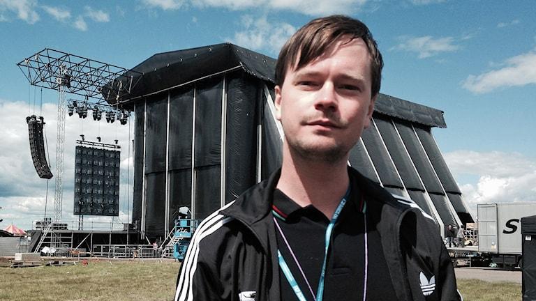 Niklas Westergren, marknadsansvarig på FKP Scorpio. Foto: Lisen Elowson Tosting/Sveriges Radio