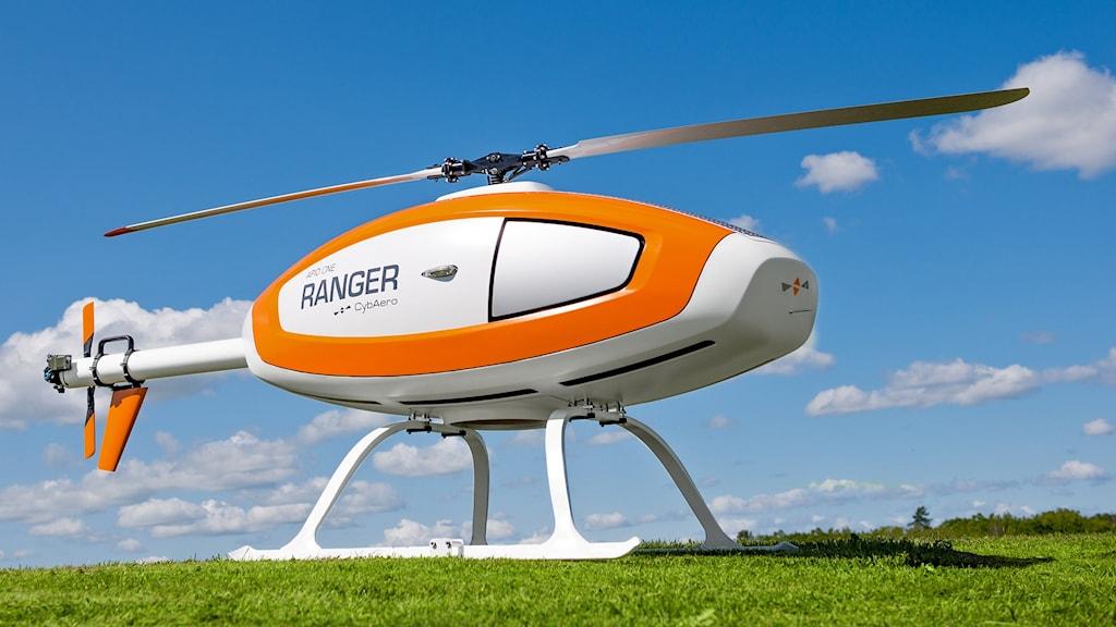 Cybaeros obemannade helikopter APID One. Foto: Oskar Lürén
