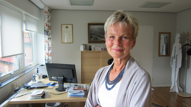 Landshövding Elisabeth Nilsson. Foto: Raina Medelius/Sveriges Radio