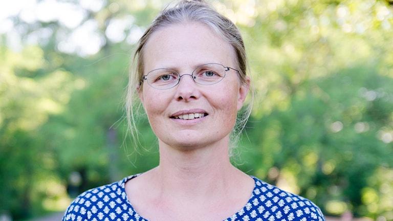 Birgitta Rydhagen (MP). Foto: Pål Frenger/Sveriges Radio
