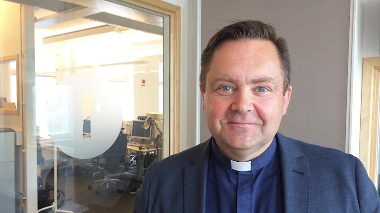 Thomas Wärfman är kyrkoherde vid Svenska Kyrkan i Norrköping. Foto: Jessica Gredin/Sveriges Radio