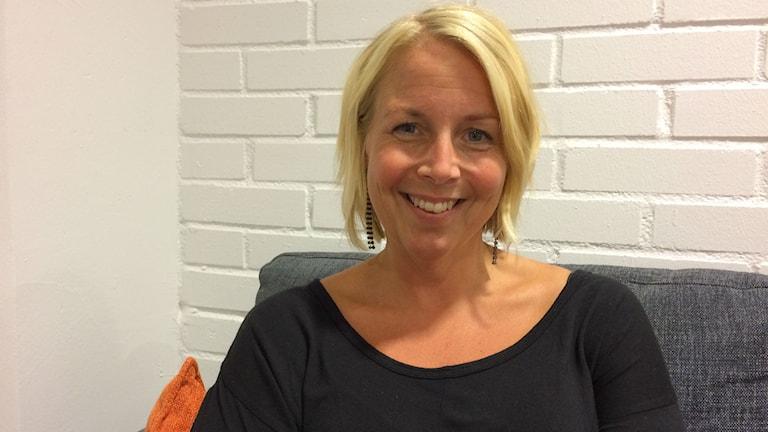 Karolin Skanetofth familjesekreterare Norrköpings kommun foto: Lisen Elowson Tosting/Sveriges Radio