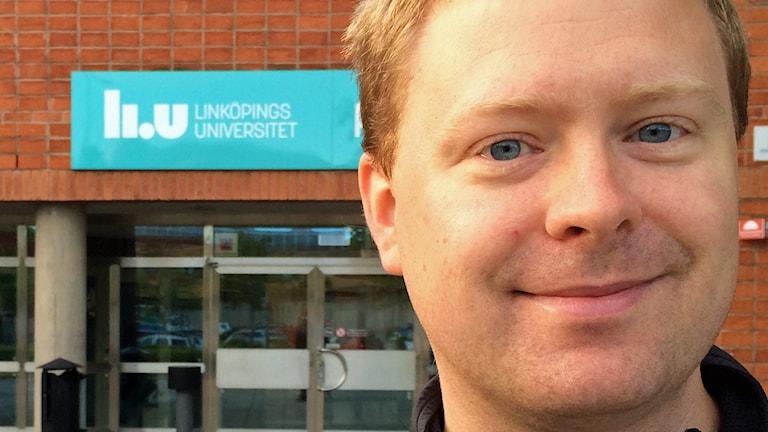 Emil Björnson, docent. Foto: Mathias Lindholm/Sveriges Radio